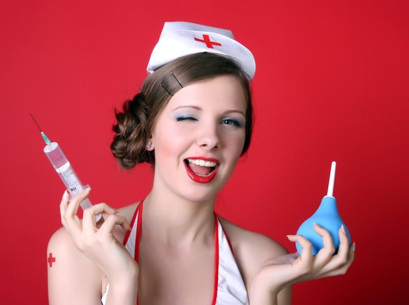 Krankenschwester und Doktor Sex