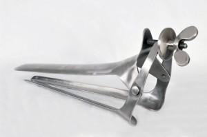 Vaginalspekulum Metall Edelstahl für Kliniksex