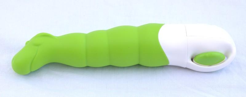 Dildo Vibrator in grün