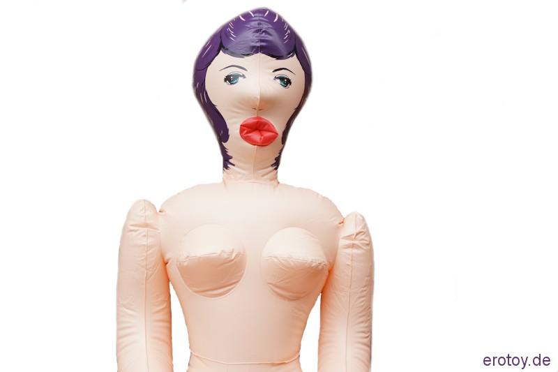 Liebespuppe - Gummipuppe lebensecht 150 cm mit drei Öffnungen